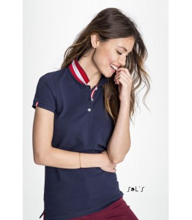 Tee shirt avec poche contrastée BELLA & CANVAS