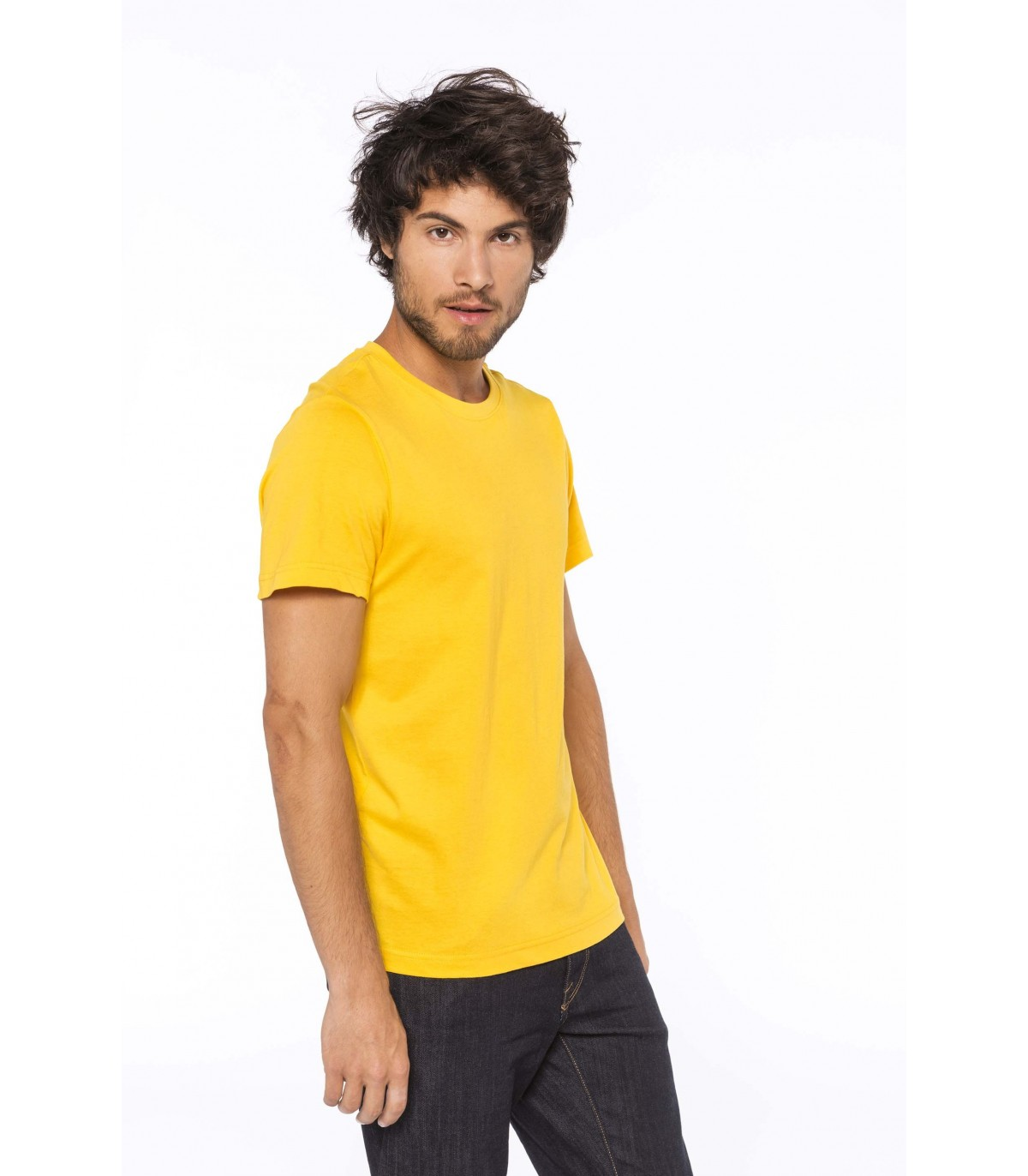 T Shirt col rond manches courtes homme K369 `