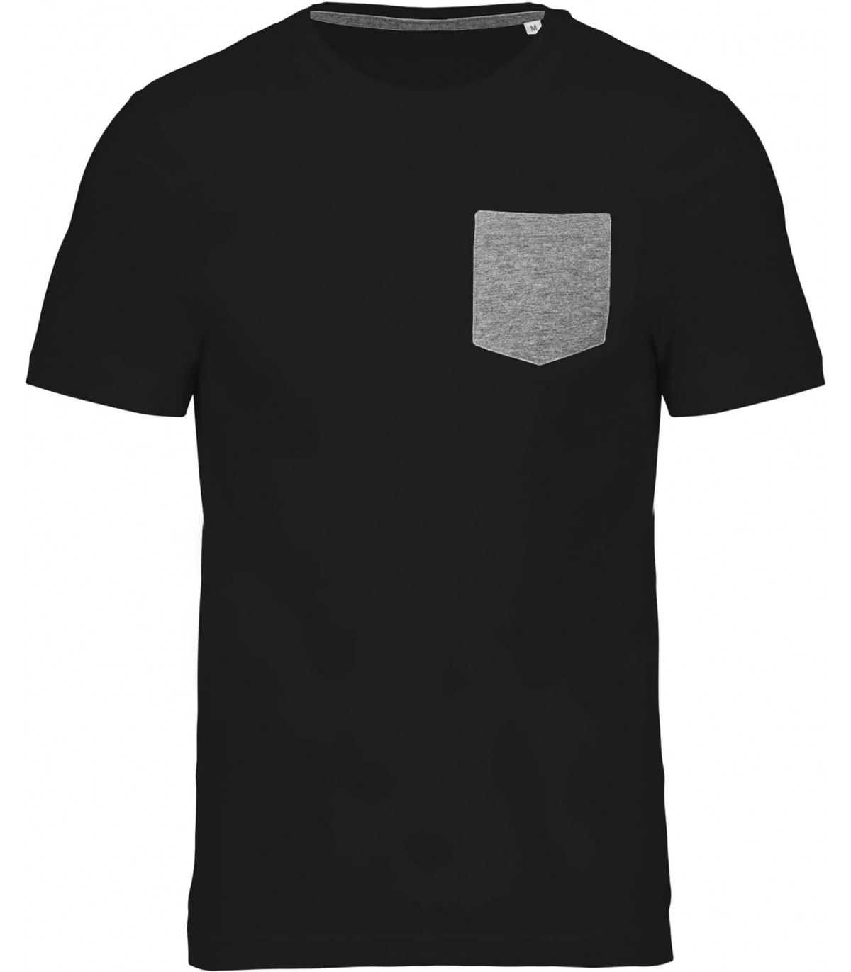 T-shirt coton bio avec poche - K375 `