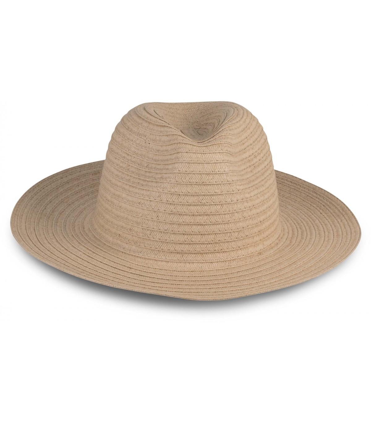 vente professionnelle nouveau concept images détaillées Chapeau de paille classique - KP610